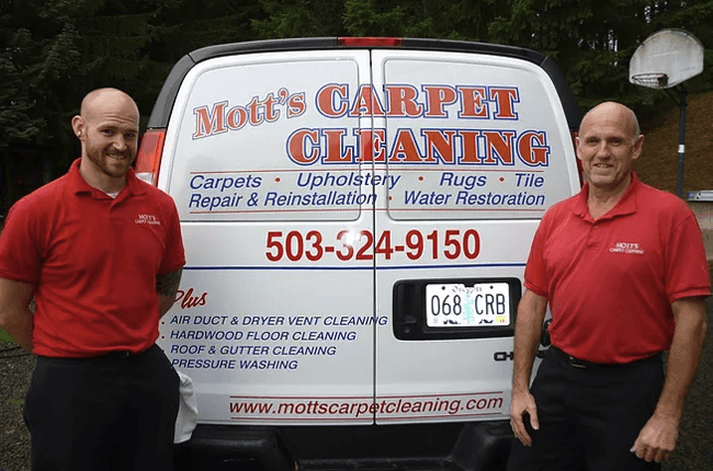 Mott's Carpet Cleaning - Serving the Metro Portland Area